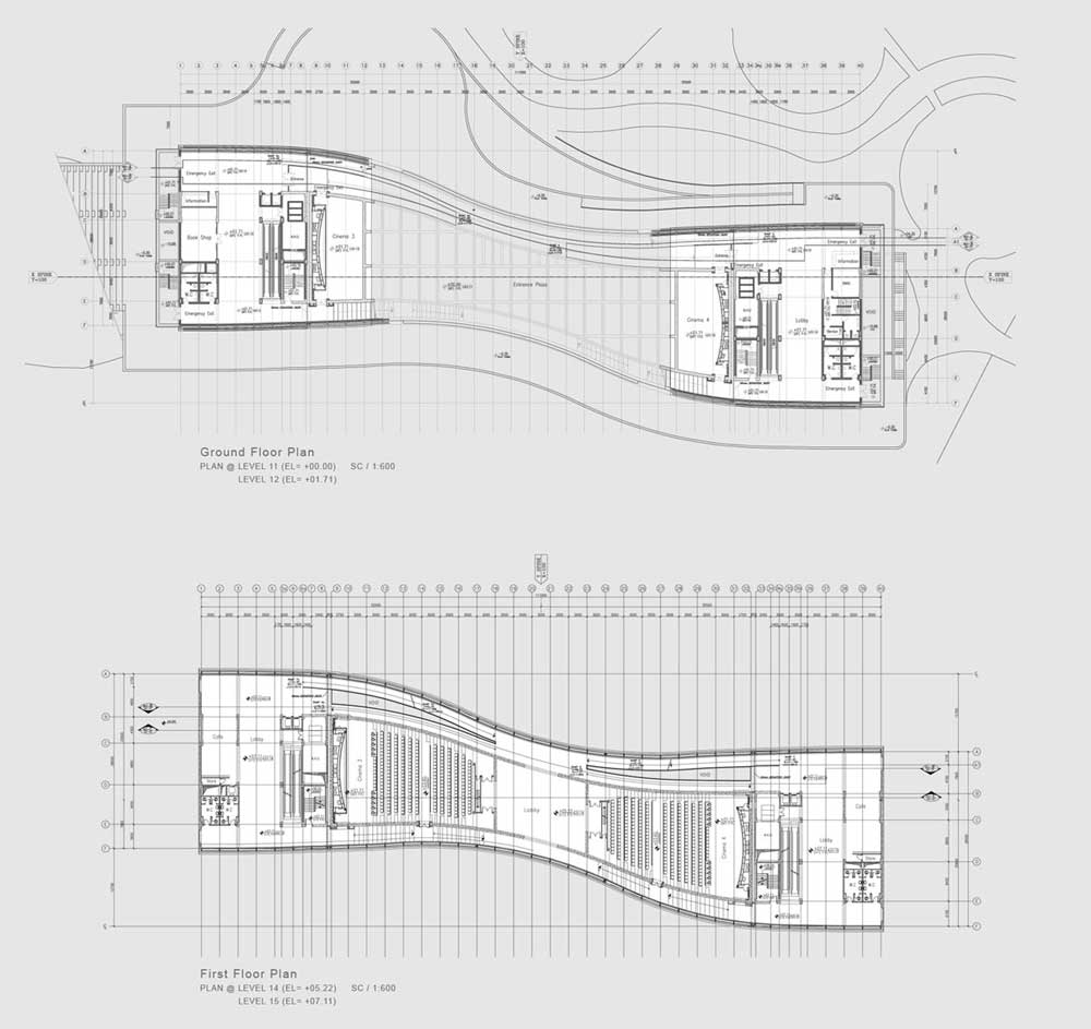 Mellat Park Cineplex Fluid Motion Consulting Architects