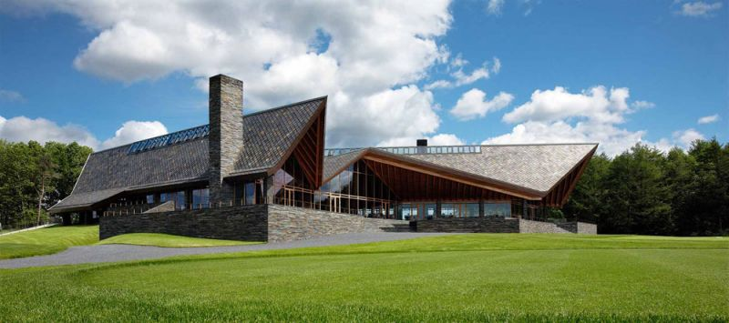 Scandinavian Golf Club / Henning Larsen Architects