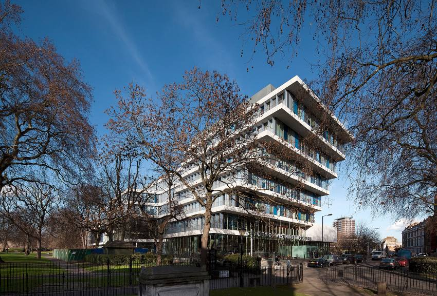 City of Westminster College / schmidt hammer lassen architects