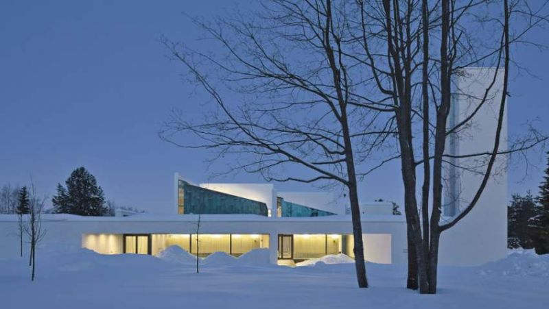 Chapel of St.Lawrence / Avanto Architects Ltd