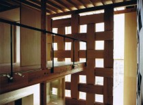 Wood Block House / Tadashi Yoshimura Architects