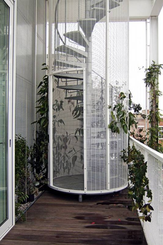 Roof Garden Apartment / Tonkin Liu with Richard Rogers