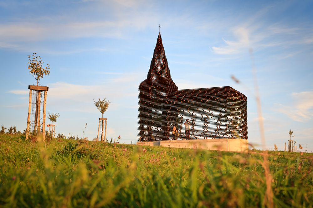 See-through Church / Gijs Van Vaerenbergh