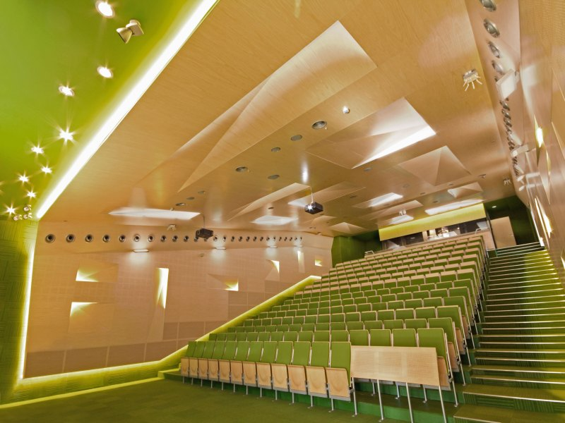 A, B, C Lecture halls at Silesian University of Technology / Zalewski Architecture Group