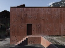 Private Atelier - one working space / Valerio Olgiati architect