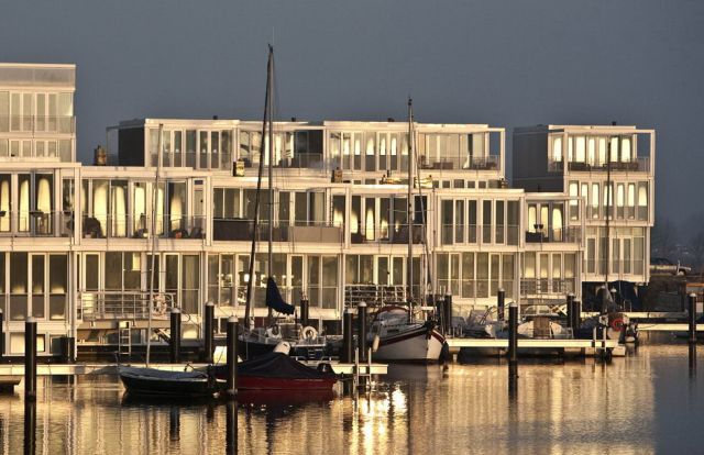 Modern Houseboats in the Netherlands