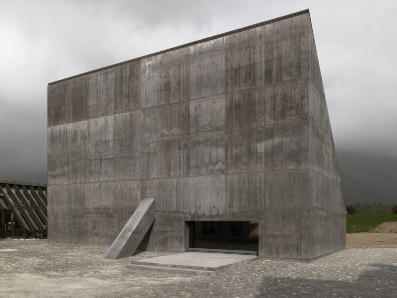 Auditorium Plantahof / Valerio Olgiati architect