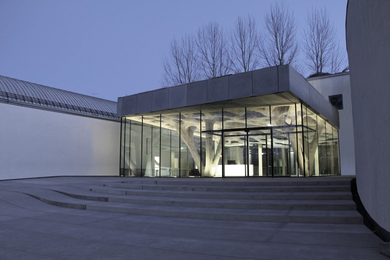 Extension Of The Building Academy Salzburg / soma architecture