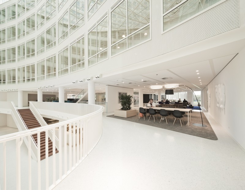 Eneco headquarters hofman dujardin architects for Hofman dujardin architects