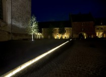Courtyard of Averbode Abbey / OMGEVING