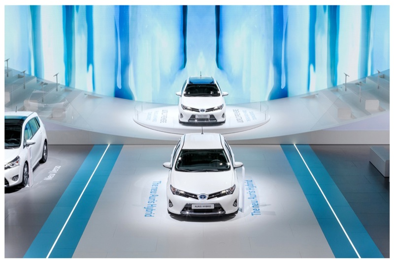 Toyota Stand at International Motor Show 2012 / Deri Design