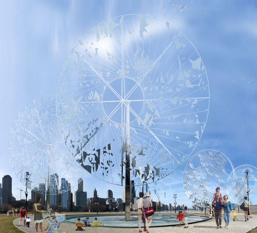 Wheels of Chicago / Hapsitus Architects