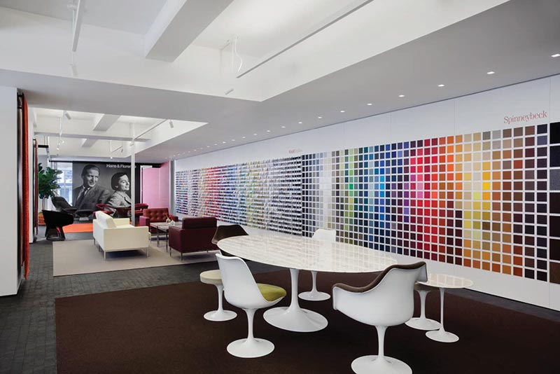 Knoll New York Flagship Showroom Offices And Shop Aro