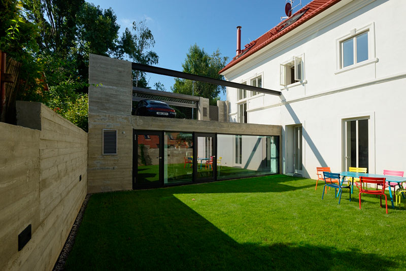 House, Nad Tejnkou, Prague 6 / Schindler Seko Architects