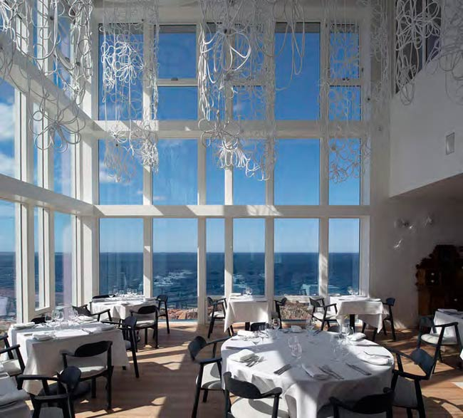 Image result for fogo island inn dining room