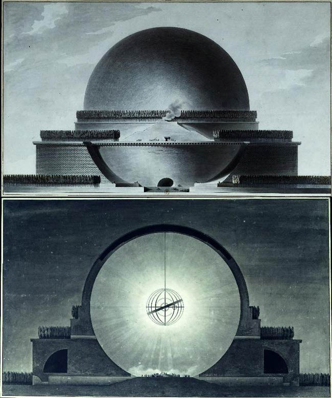 Radical bourgeois architects in the age of reason and revolution