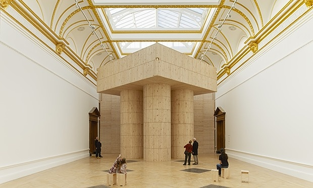 Sensing Spaces indulges architecture's vaulting ambition