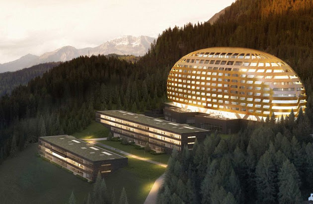 This $170M Davos Hotel Keeps Rich and Powerful Super Safe