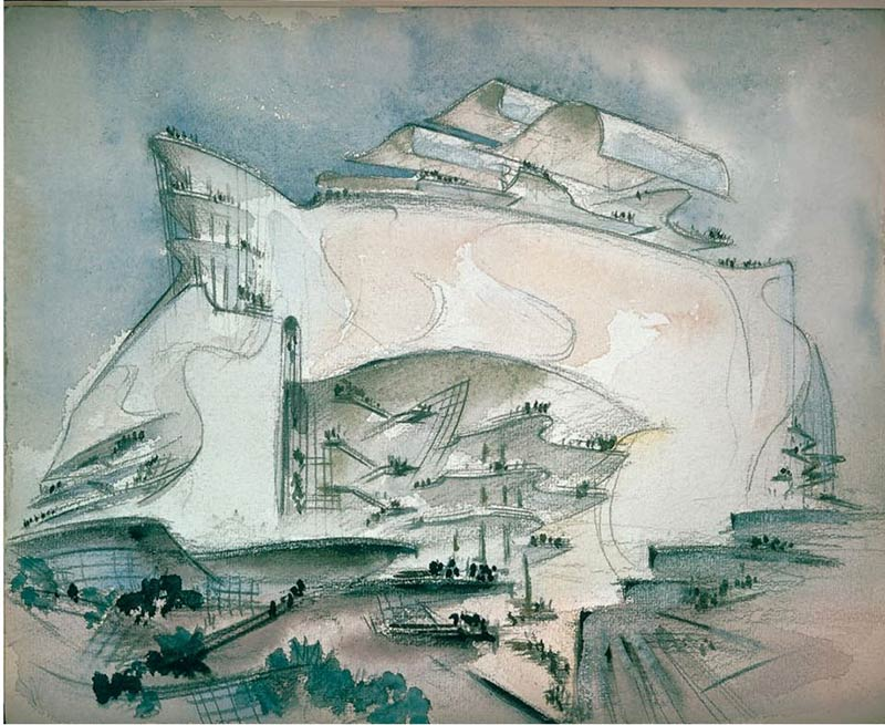 Architectural Drawings From the World's Greatest Architects