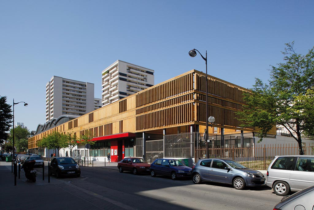Nursery School & Municipal Workshops / Jean-François Schmit, Architectes