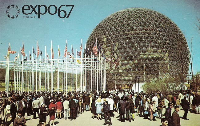 Expo 67 Taking Shape (1966)
