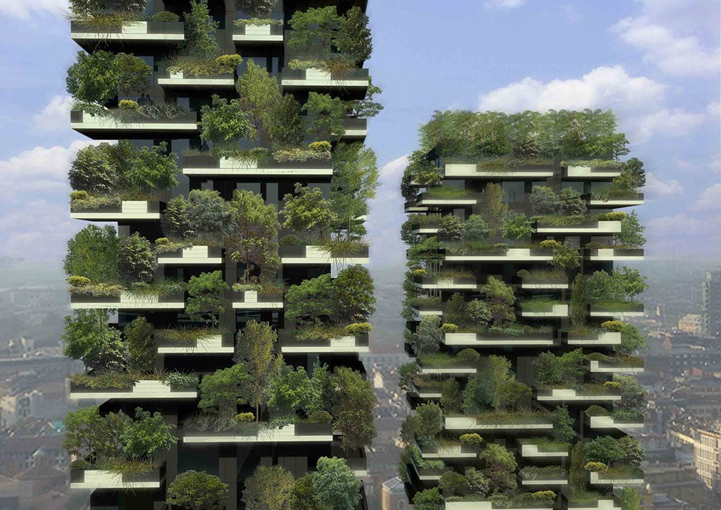 Milan plants a new forest in the sky