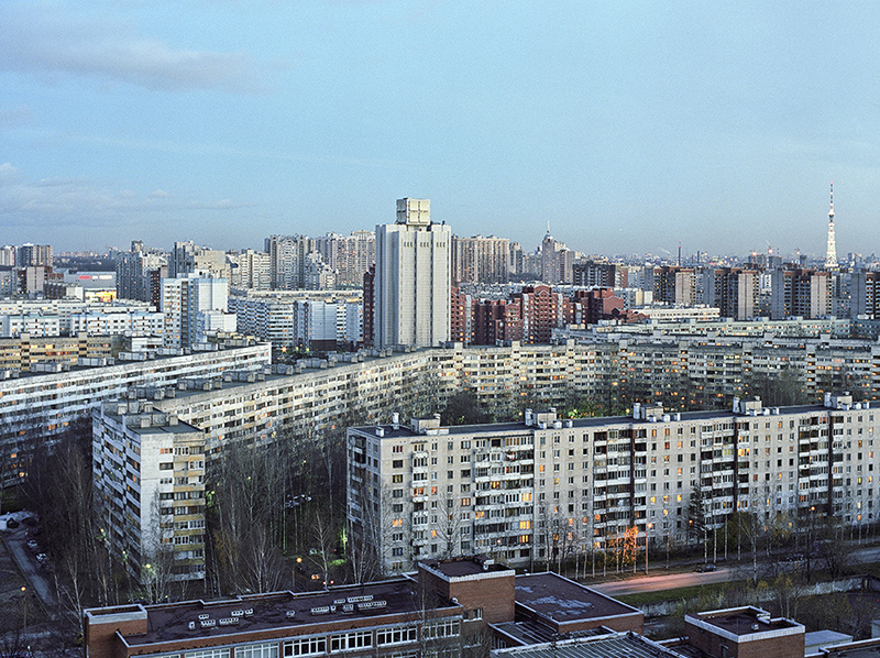 Russia's suburbs lack charm ... which may be why they're creative hotspots