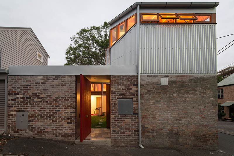 Cowshed house carter williamson architects - Maison camperdown carter williamson architects ...