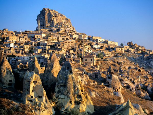 How the ancient underground city of Cappadocia became a fruit warehouse