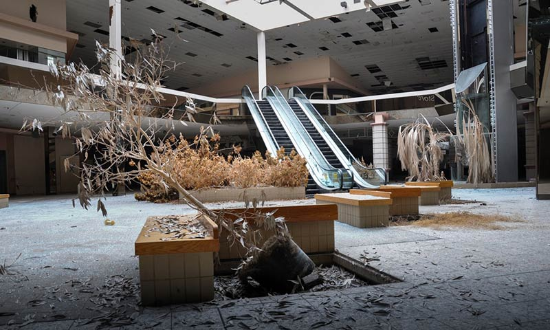 The death of the American mall