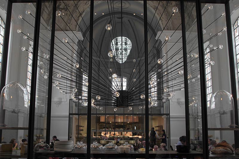 The Jane Restaurant, Antwerp, Belgium