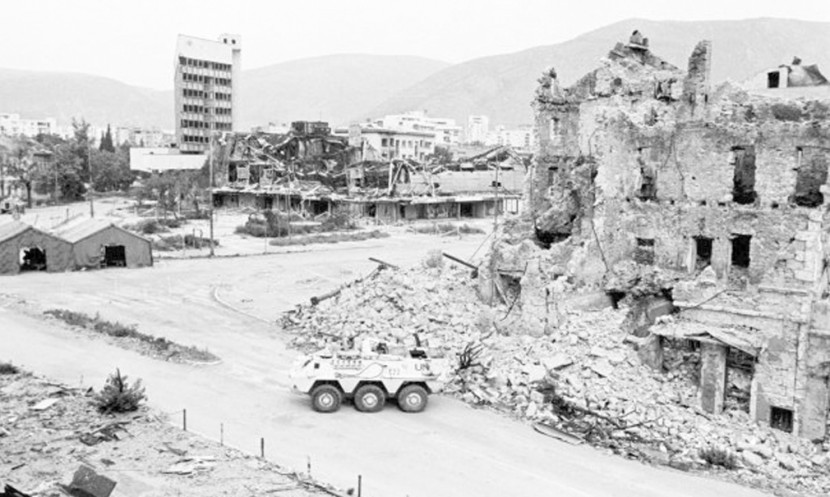 Mortal Cities - the irreversible disappearance of Mostar