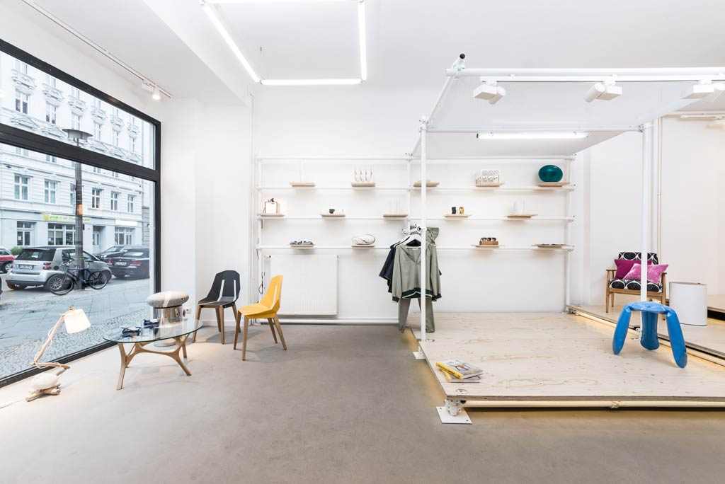Design and fashion concept store in Berlin / KONTENT