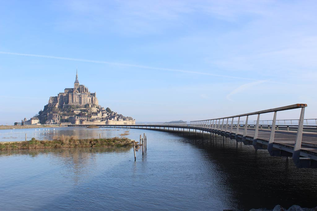Jetty of Mont-Saint-Michel / Dietmar Feichtinger Architectes
