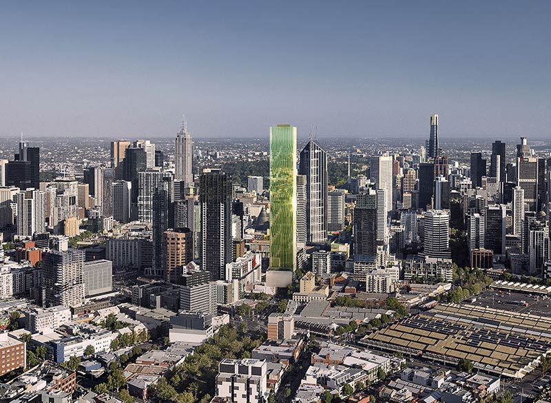 Victoria One tower by Elenberg Fraser Architects