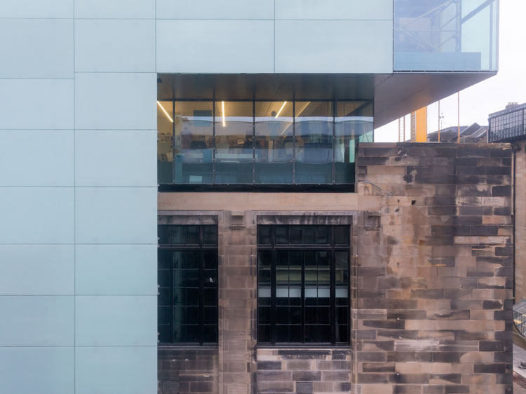Glasgow School of Art, Steven Holl Architects