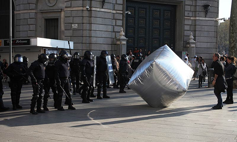 Disobedient Objects review – raw protest in genteel surroundings