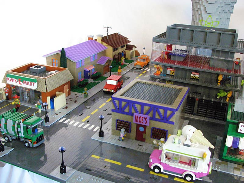 The Lego Version of Springfield Is the Best Simpsons Fan Tribute Ever