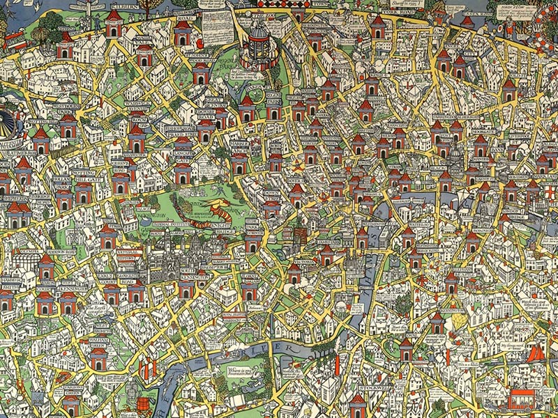 How map-master Max Gill became the saviour of the London Underground