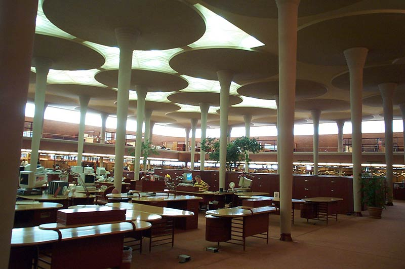 Under the Lily Pads - Frank Lloyd Wright's SC Johnson Administration Building