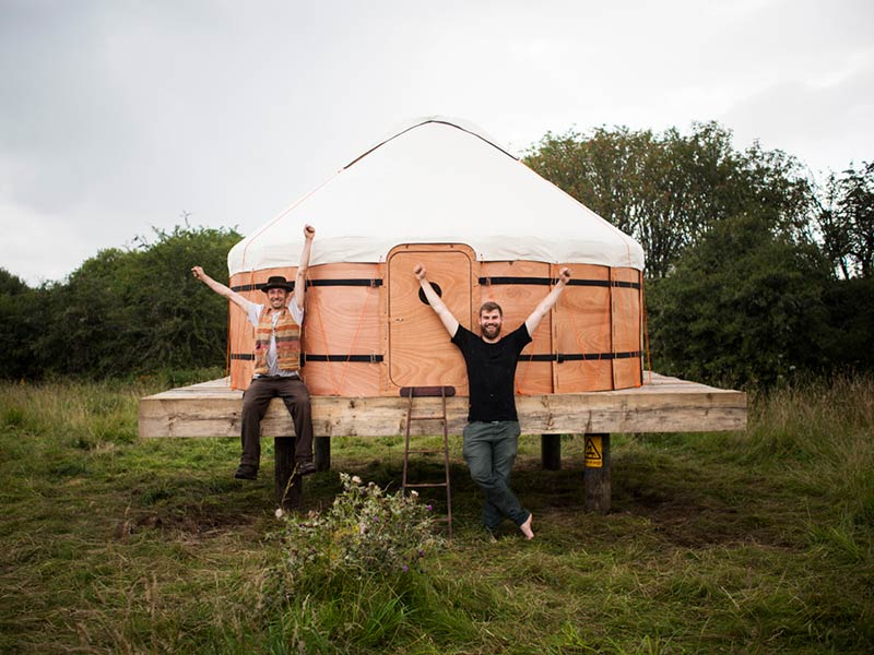 A Handcrafted, $7,500 Yurt That's Far Cooler Than Your House