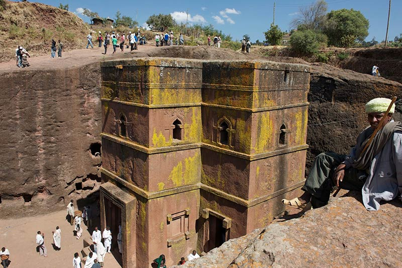 Ancient rock churches put Ethiopia back on tourist map