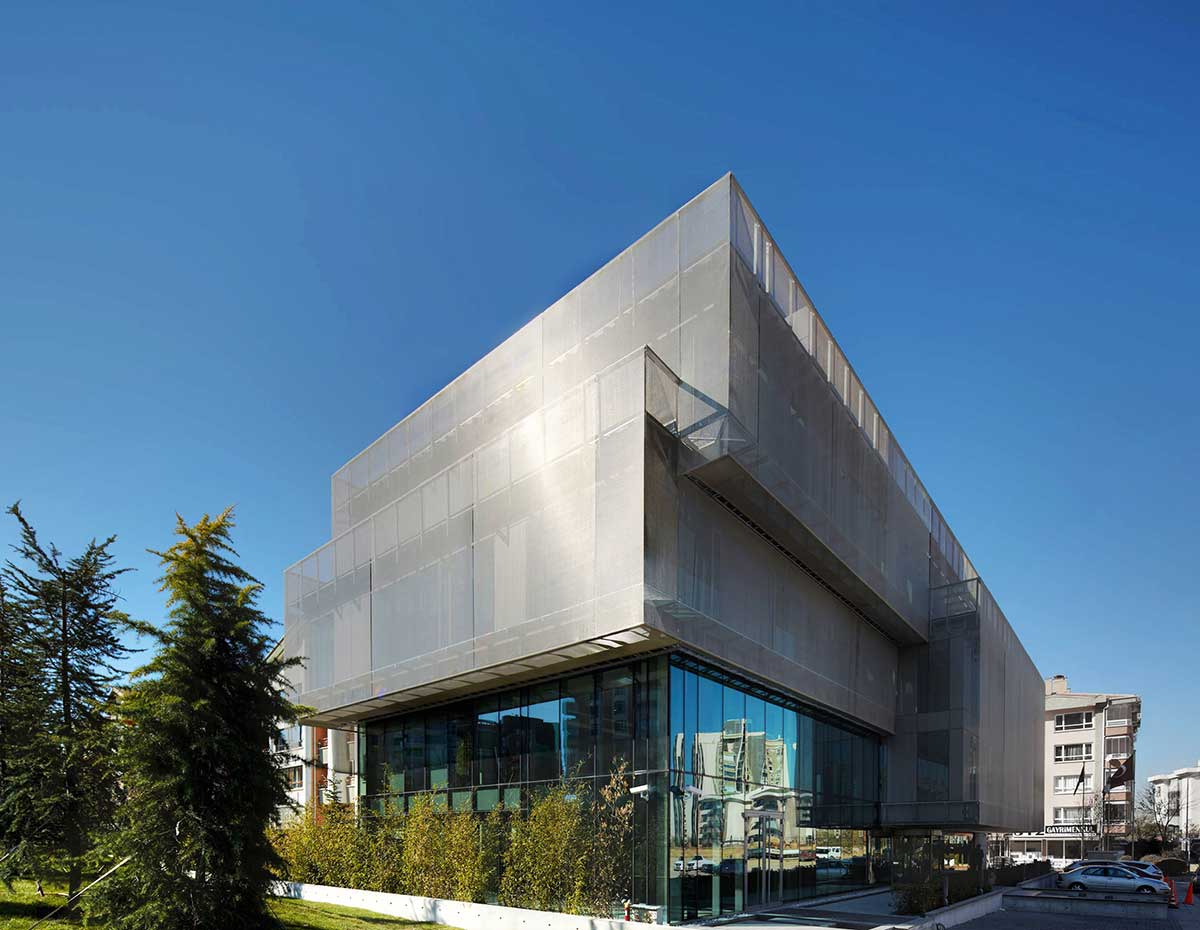 Turkish Contractors Association Headquarters / AVCI ARCHITECTS