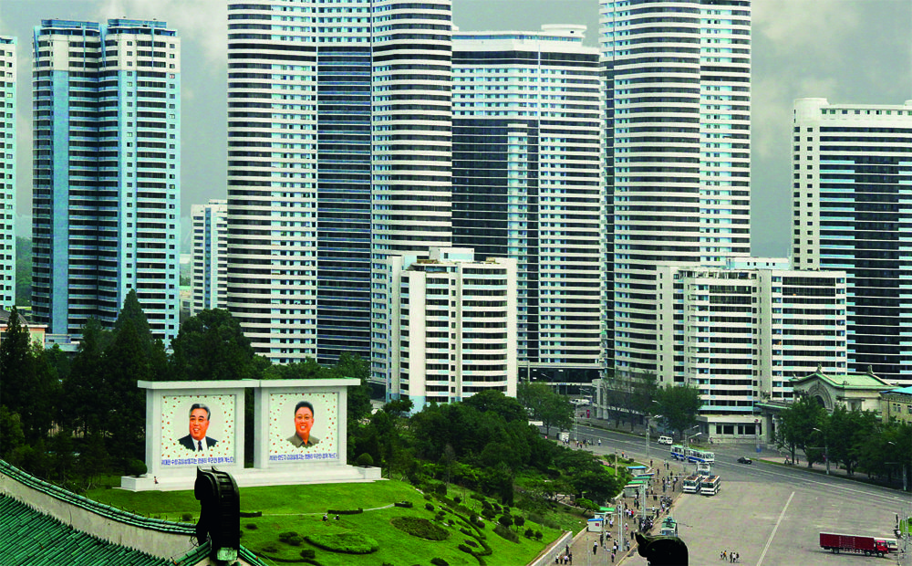 Here's an Inside Look at North Korea's Dystopian Architecture