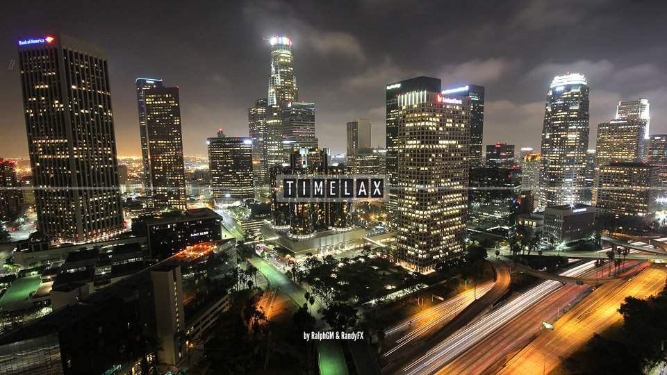 Los Angeles Time-Lapse - TimeLAX 03 - Supermoon