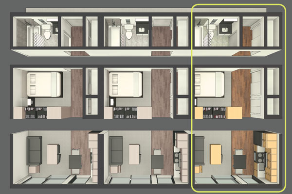 Are Pre-Fab Micro Units the Solution to Millennial Urban Design?
