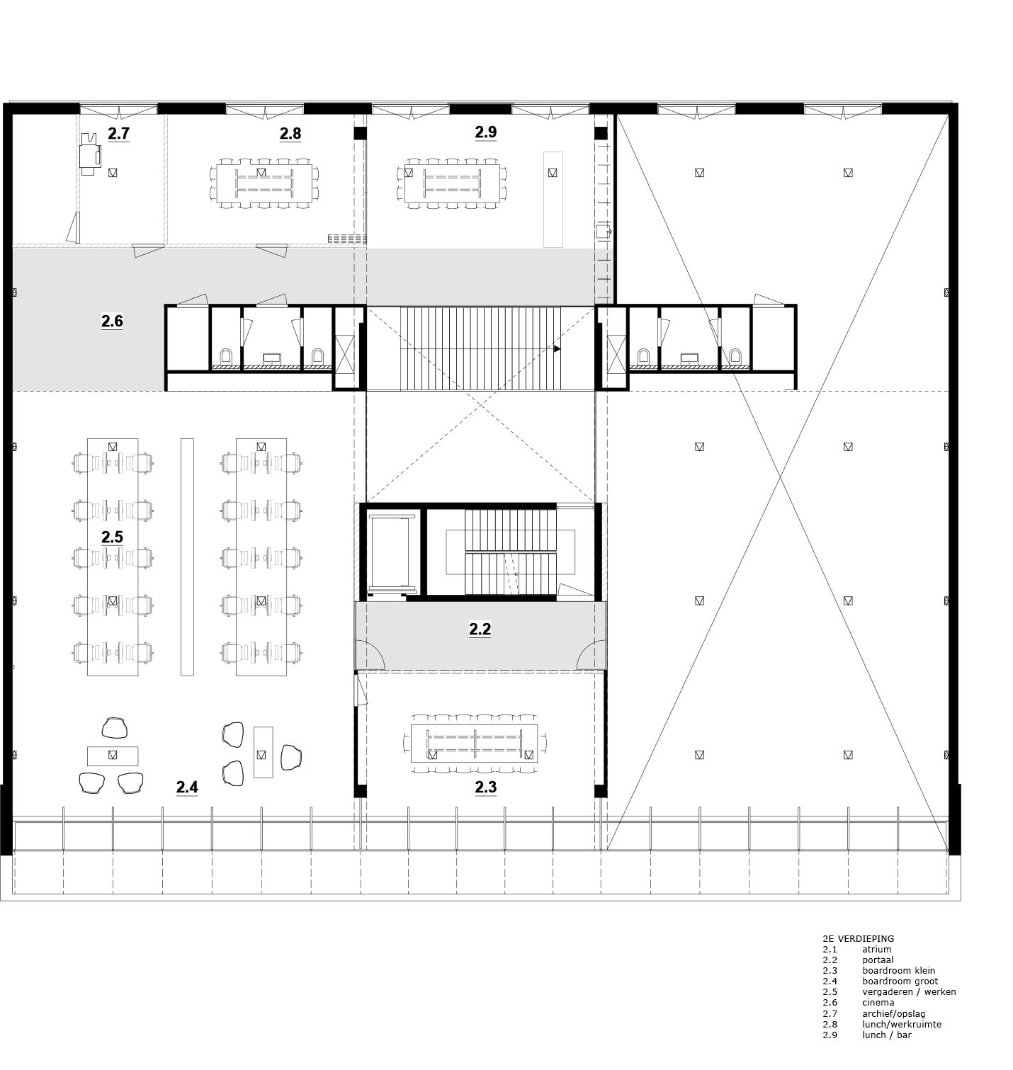 Office 05 i29 interior architects architecture lab for Office interior design questionnaire for clients