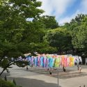 100 colors at Shinjuku Central Park / emmanuelle moureaux