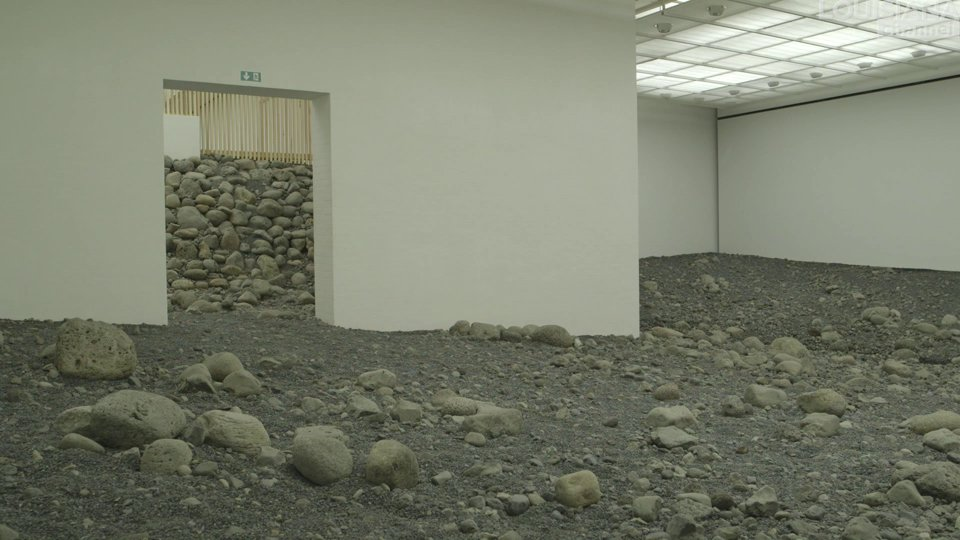 3 Writers: on a riverbed by Olafur Eliasson