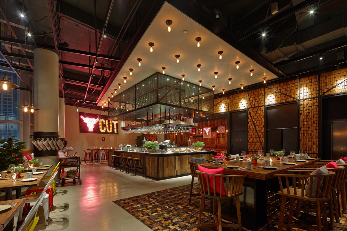 The Cut Restaurant / Kokaistudios